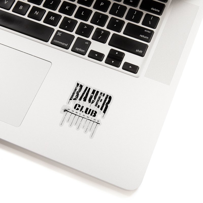 Bauer Club Worldwide Accessories Sticker by JBauerart's Artist Shop