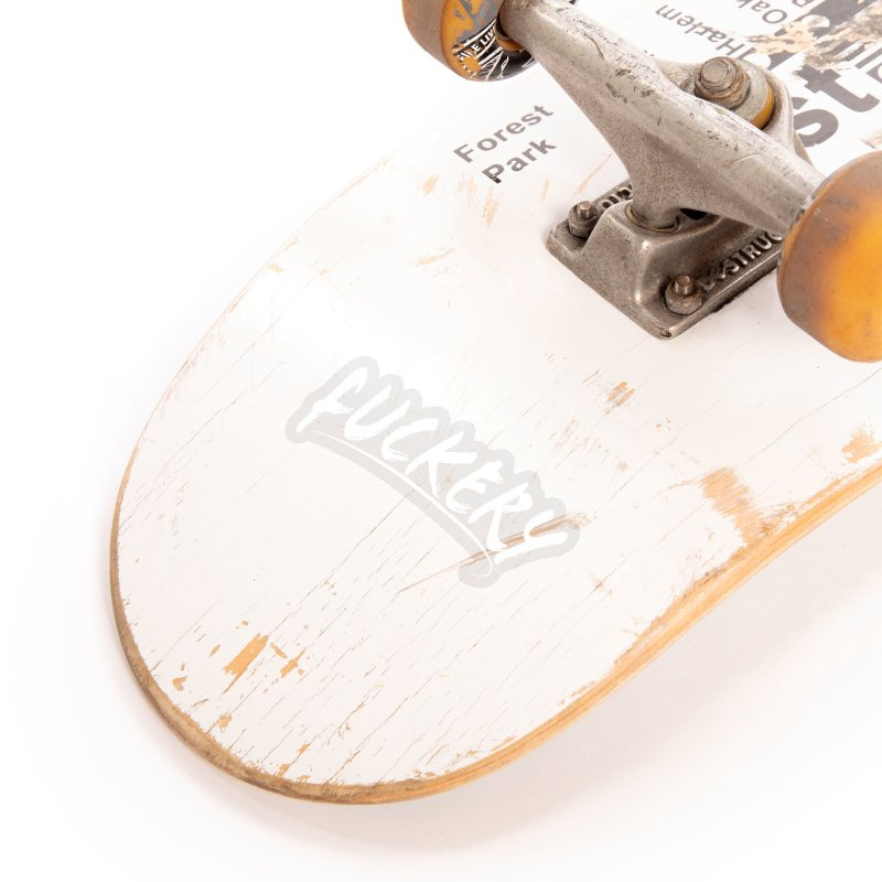 Fuckery (White Text) Accessories Sticker by JBauerart's Artist Shop