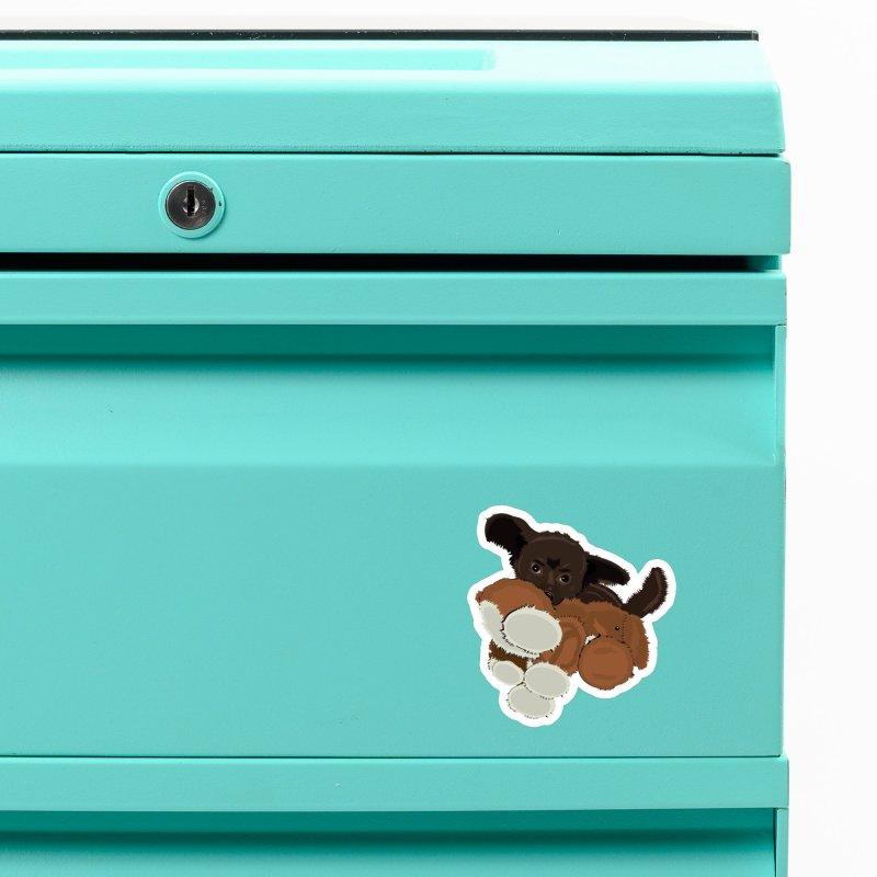The Coco Bear Accessories Magnet by JBauerart's Artist Shop