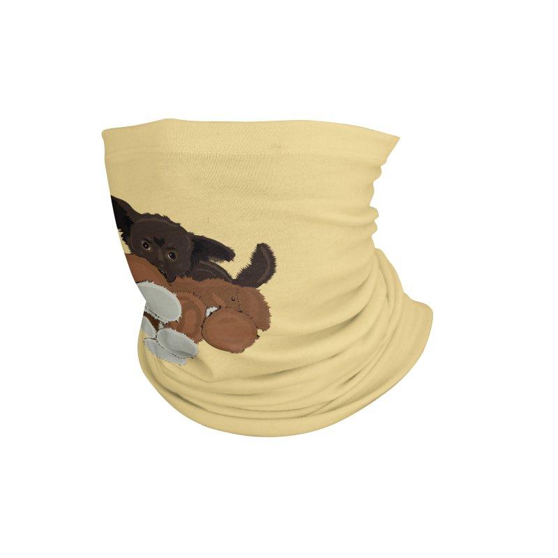 The Coco Bear Accessories Neck Gaiter by JBauerart's Artist Shop