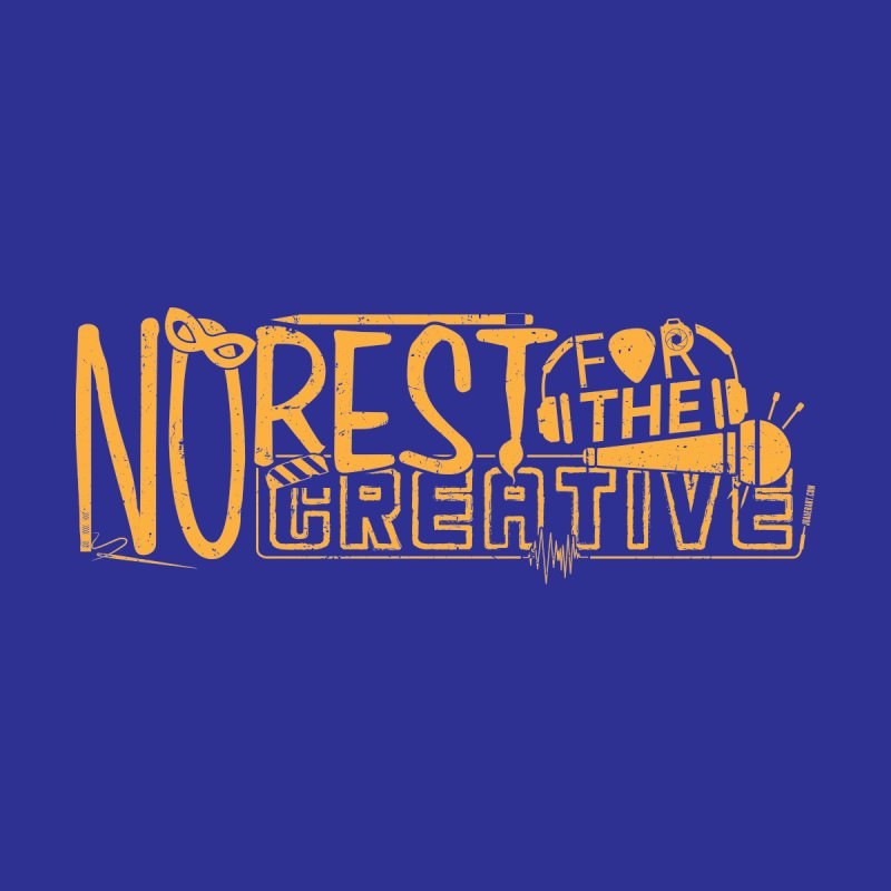 The Creative Do Not Rest (Orange/Yellow) Men's Pullover Hoody by JBauerart's Artist Shop