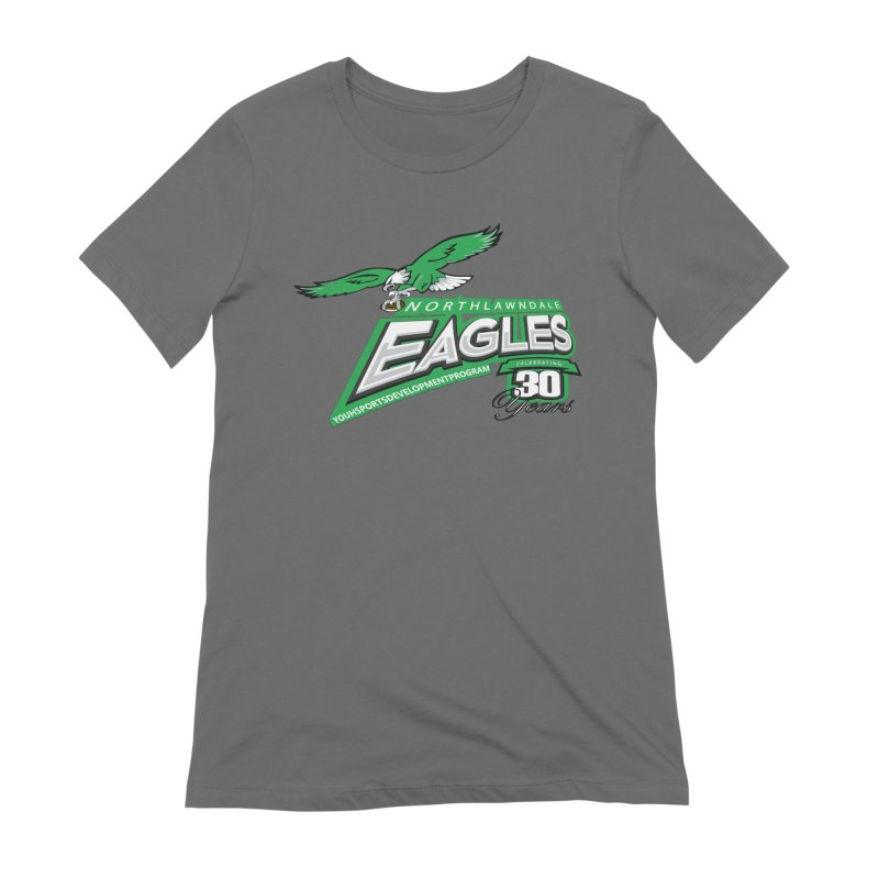North Lawndale Eagles 30 Year Anniversary Women's Extra Soft T-Shirt by J. Brantley Design Shop