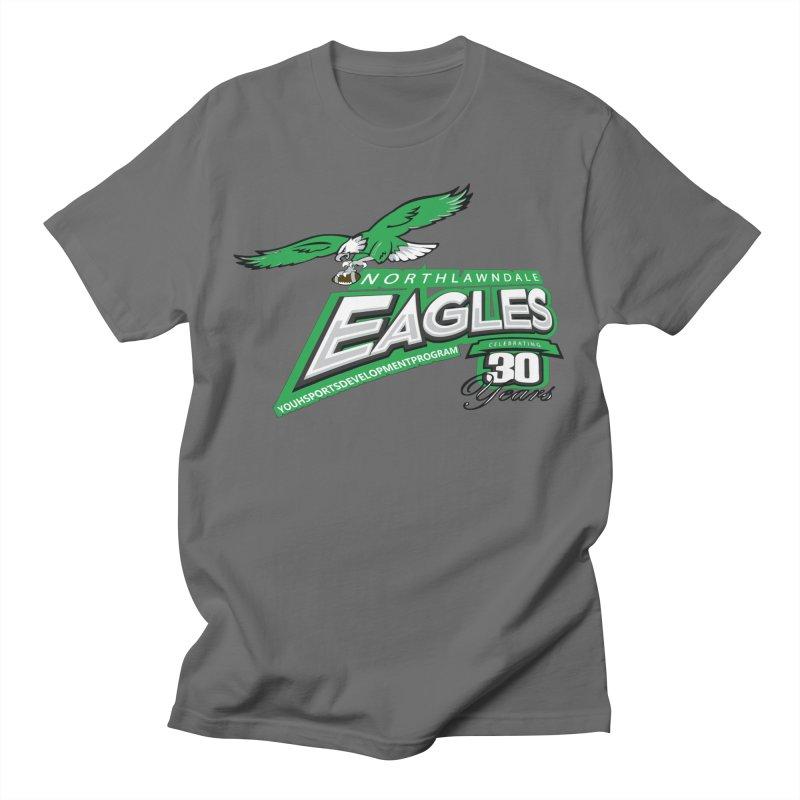 North Lawndale Eagles 30 Year Anniversary Men's T-Shirt by J. Brantley Design Shop