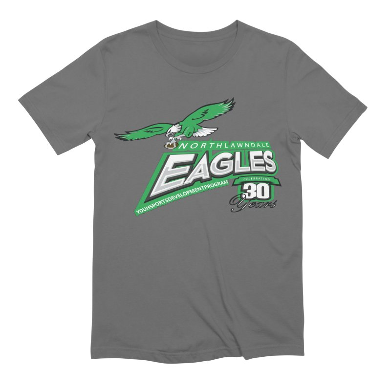 North Lawndale Eagles 30 Year Anniversary Men's Extra Soft T-Shirt by J. Brantley Design Shop