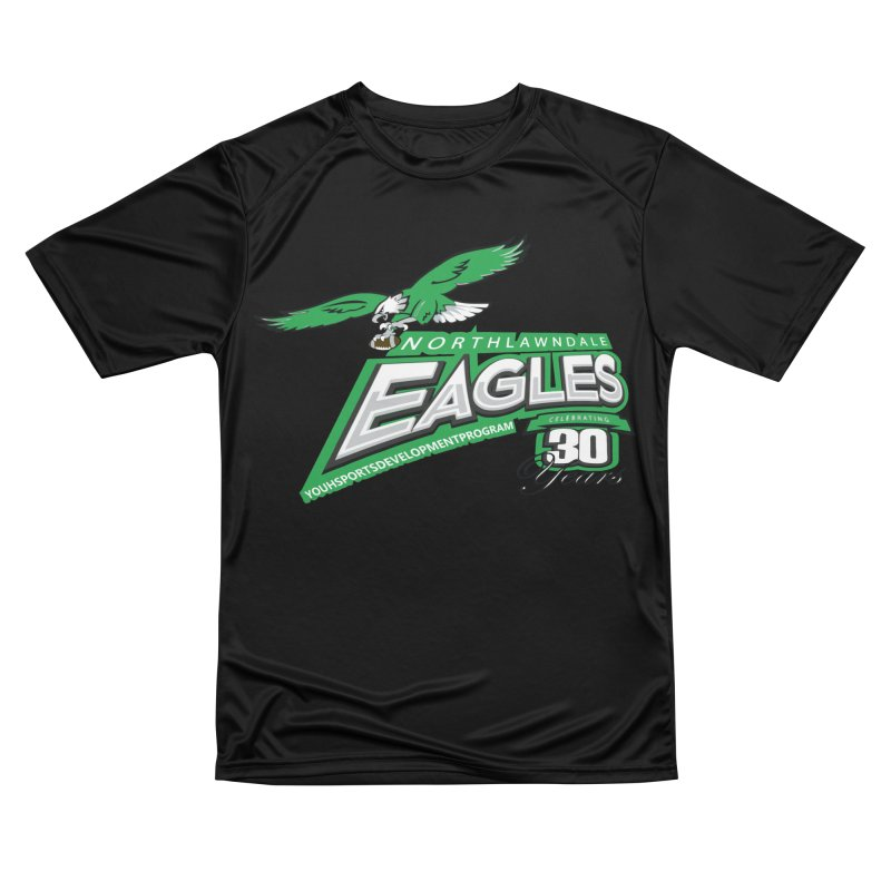 North Lawndale Eagles 30 Year Anniversary Men's Performance T-Shirt by J. Brantley Design Shop
