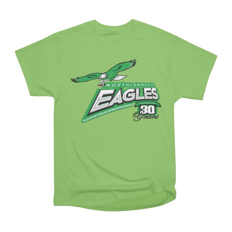 North Lawndale Eagles 30 Year Anniversary Women's Heavyweight Unisex T-Shirt by J. Brantley Design Shop