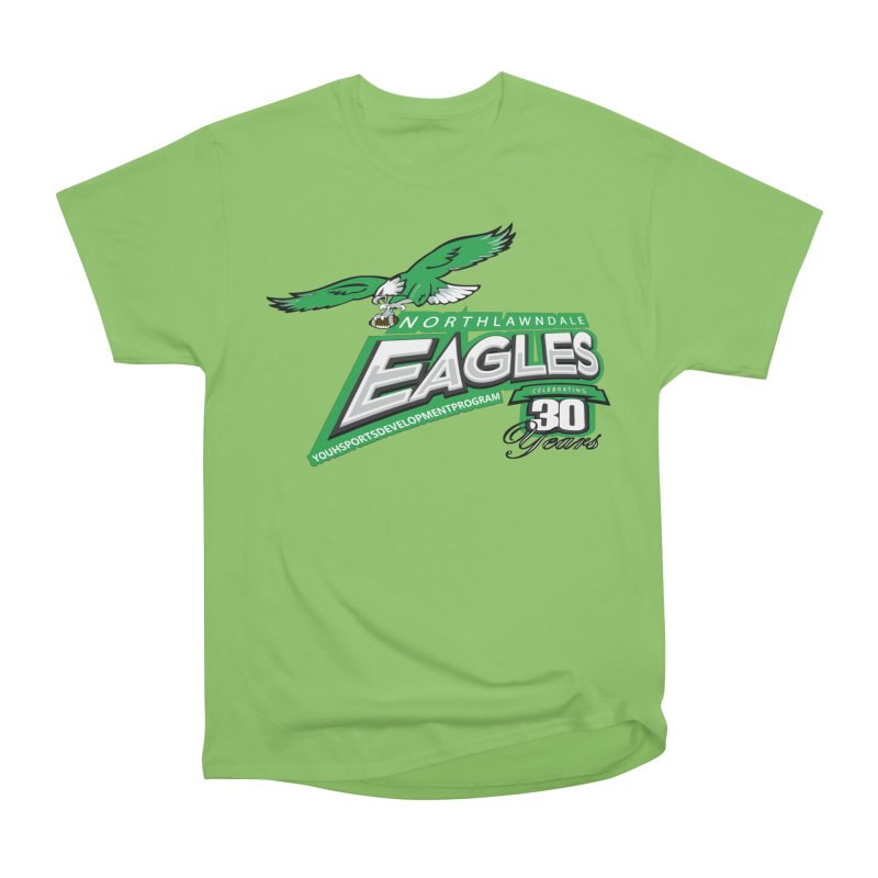 North Lawndale Eagles 30 Year Anniversary Men's Heavyweight T-Shirt by J. Brantley Design Shop