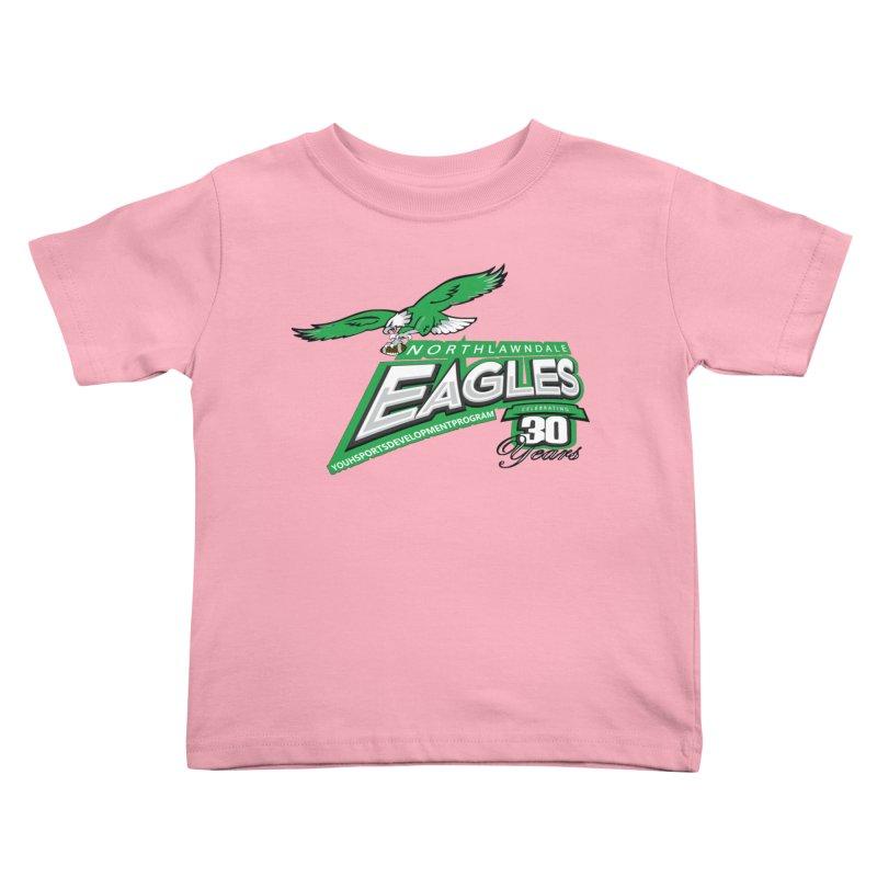North Lawndale Eagles 30 Year Anniversary Kids Toddler T-Shirt by J. Brantley Design Shop