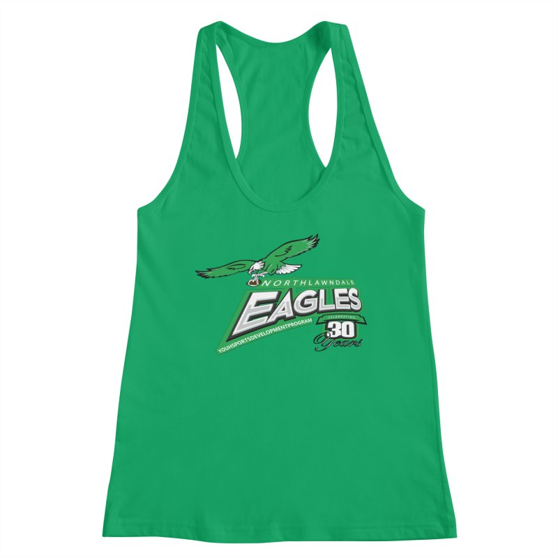 North Lawndale Eagles 30 Year Anniversary Women's Tank by J. Brantley Design Shop