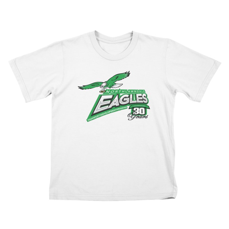 North Lawndale Eagles 30 Year Anniversary Kids T-Shirt by J. Brantley Design Shop