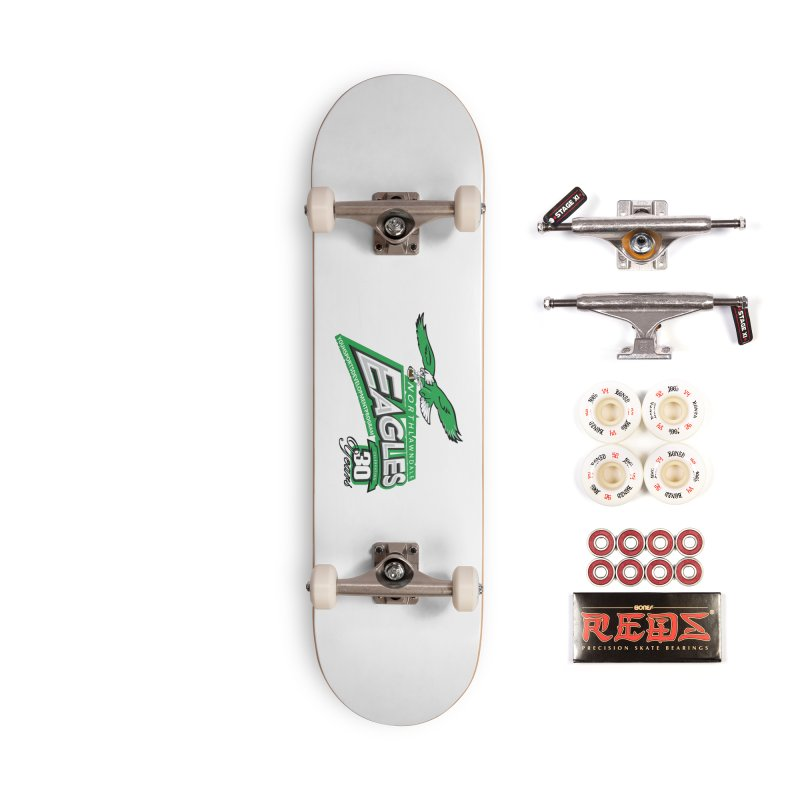 North Lawndale Eagles 30 Year Anniversary Accessories Complete - Pro Skateboard by J. Brantley Design Shop