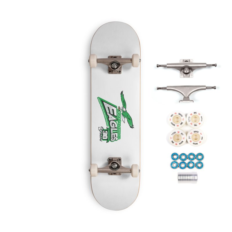 North Lawndale Eagles 30 Year Anniversary Accessories Complete - Premium Skateboard by J. Brantley Design Shop