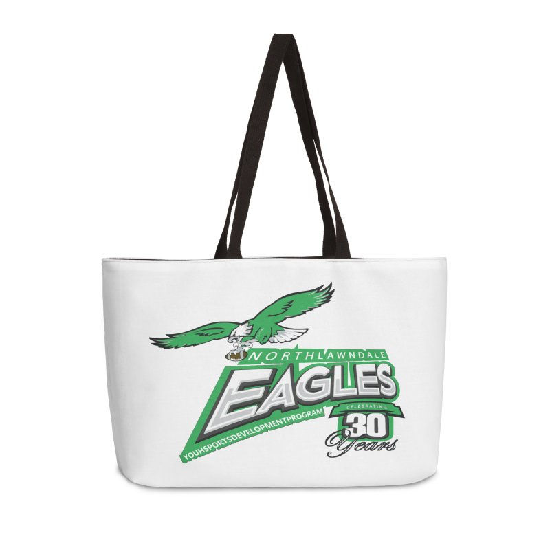 North Lawndale Eagles 30 Year Anniversary Accessories Bag by J. Brantley Design Shop