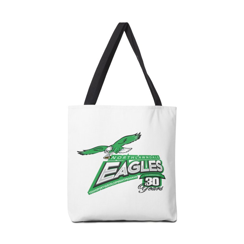 North Lawndale Eagles 30 Year Anniversary Accessories Tote Bag Bag by J. Brantley Design Shop