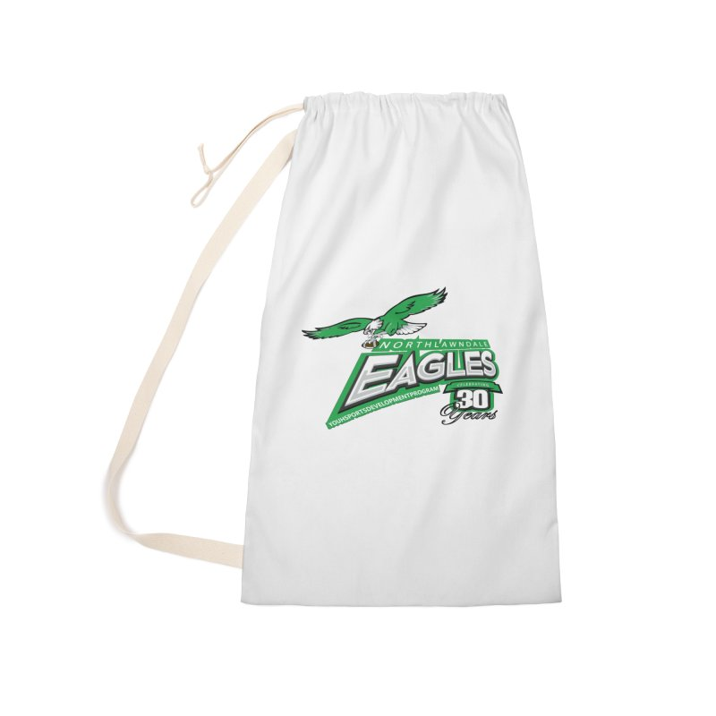 North Lawndale Eagles 30 Year Anniversary Accessories Laundry Bag Bag by J. Brantley Design Shop