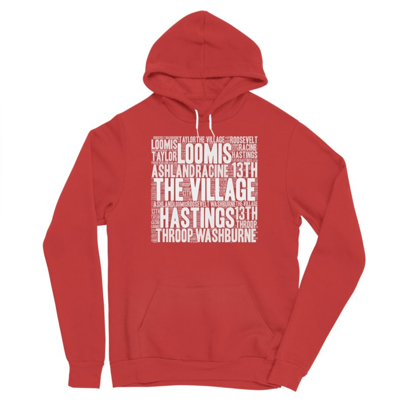I'm from the Village (white) Men's Pullover Hoody by J. Brantley Design Shop