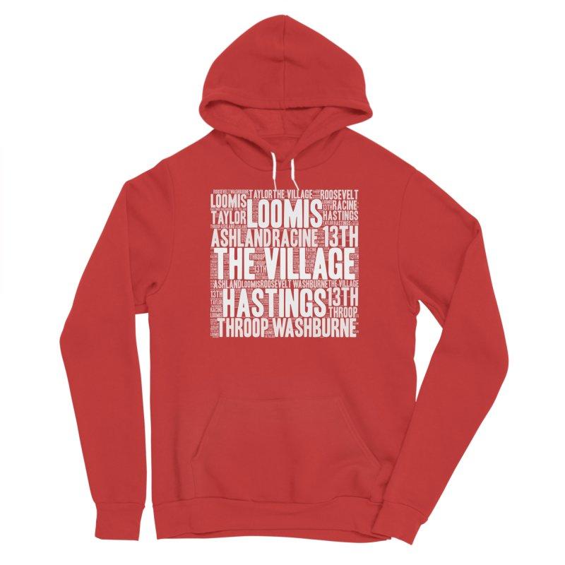 I'm from the Village (white) Women's Sponge Fleece Pullover Hoody by J. Brantley Design Shop