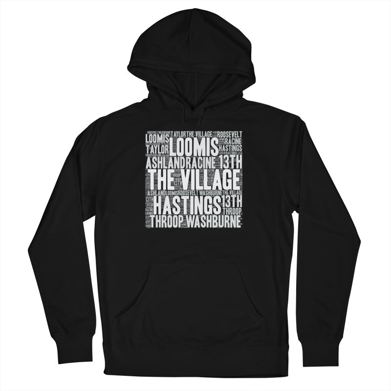 I'm from the Village (white) Men's French Terry Pullover Hoody by J. Brantley Design Shop