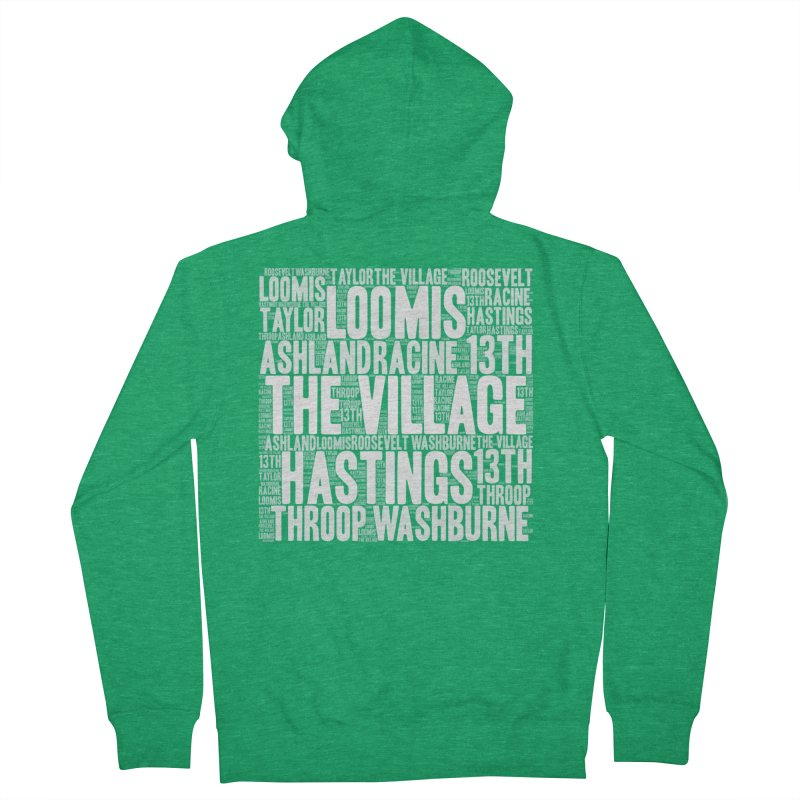 I'm from the Village (white) Women's Zip-Up Hoody by J. Brantley Design Shop