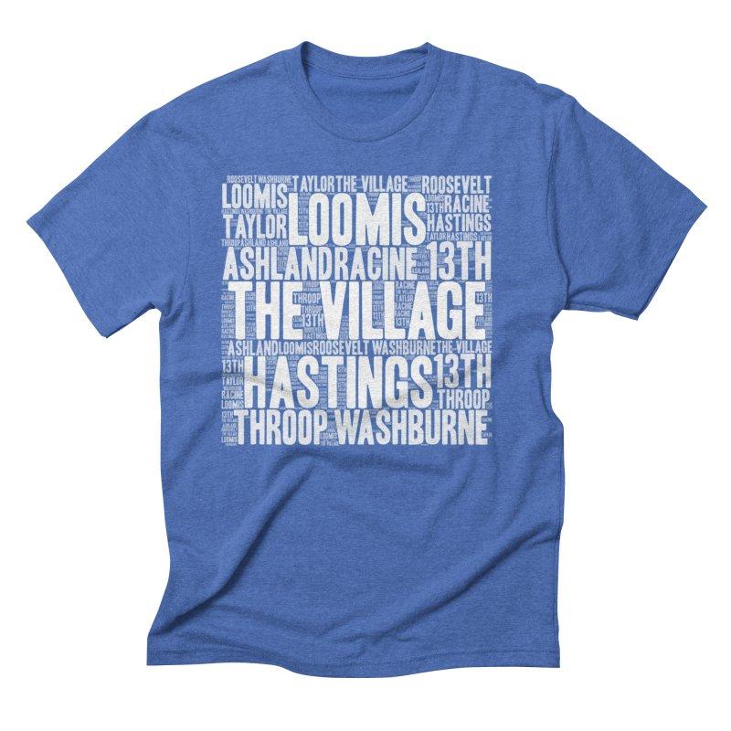 I'm from the Village (white) Men's Triblend T-Shirt by J. Brantley Design Shop