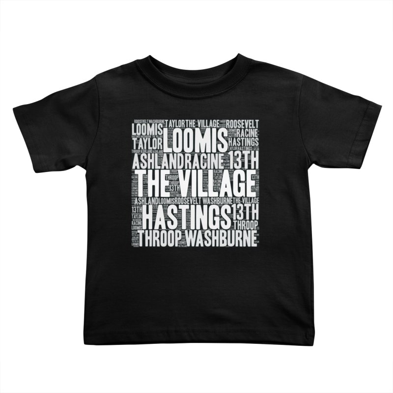 I'm from the Village (white) Kids Toddler T-Shirt by J. Brantley Design Shop