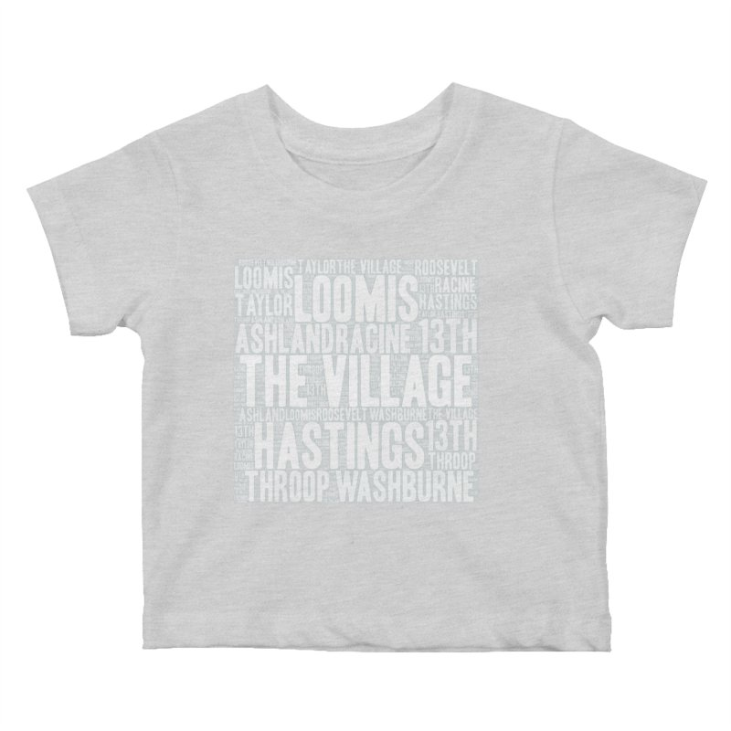 I'm from the Village (white) Kids Baby T-Shirt by J. Brantley Design Shop