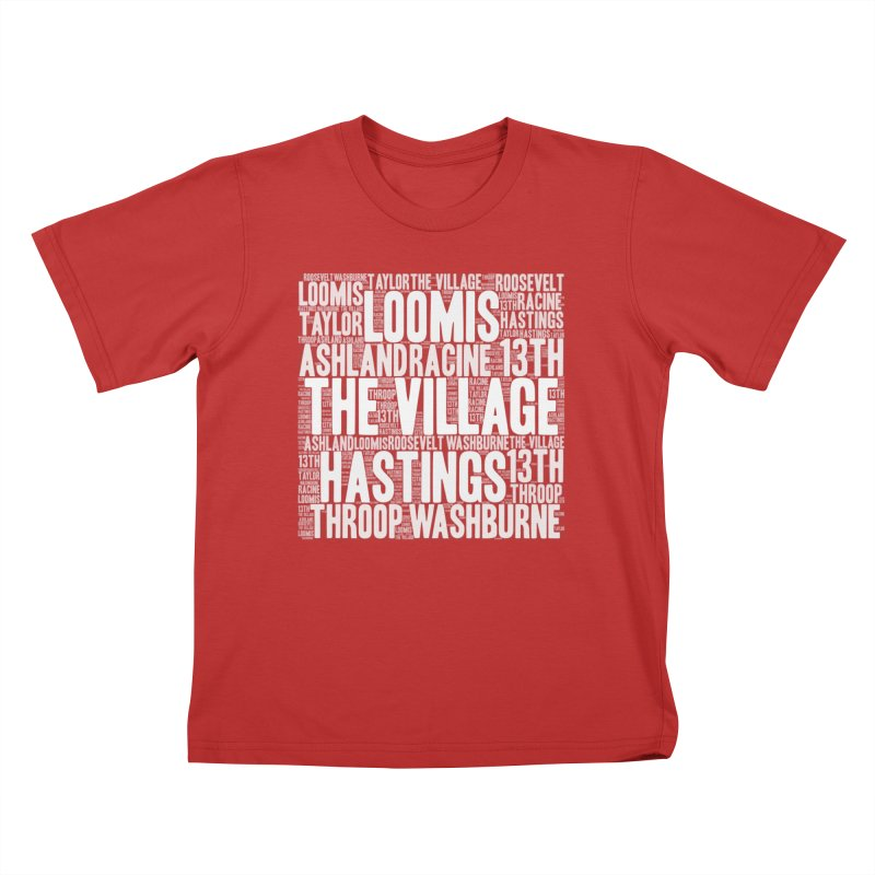 I'm from the Village (white) Kids T-Shirt by J. Brantley Design Shop
