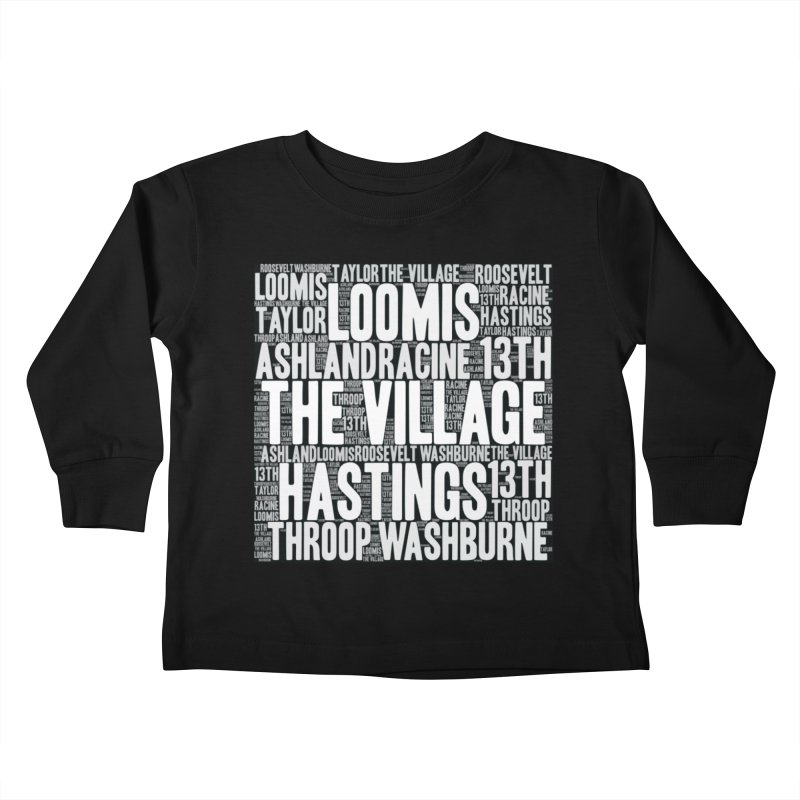 I'm from the Village (white) Kids Toddler Longsleeve T-Shirt by J. Brantley Design Shop