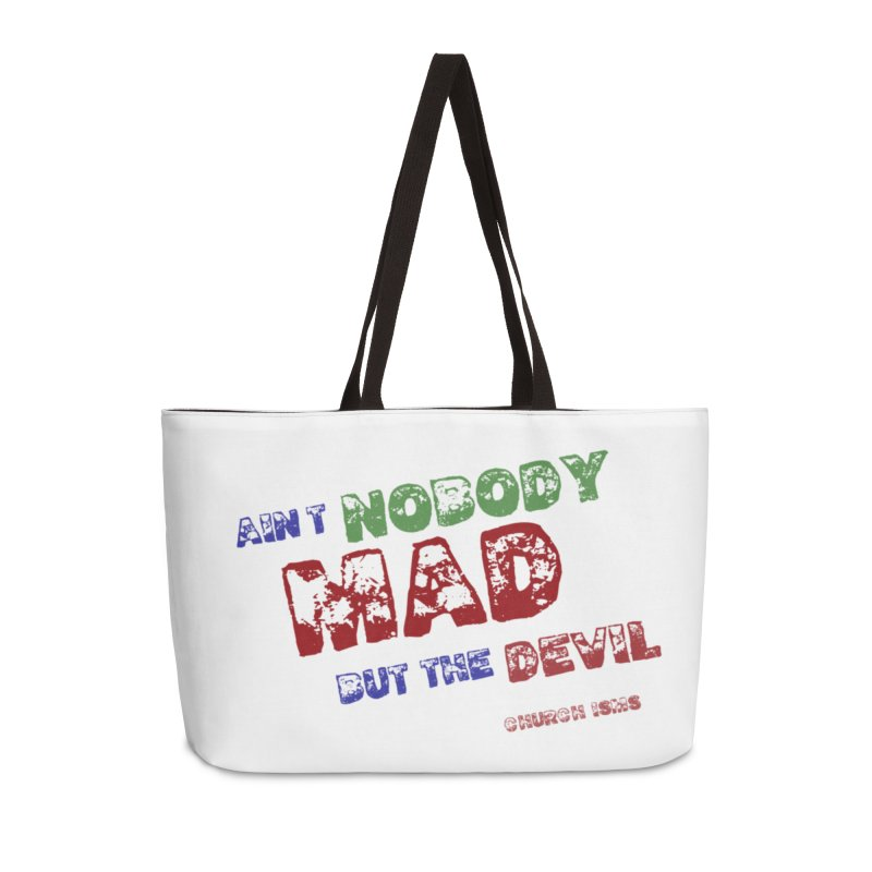 AINT NOBODY MAD Accessories Bag by J. Brantley Design Shop