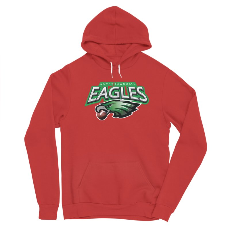 Eagles Logo Plain Men's Pullover Hoody by J. Brantley Design Shop