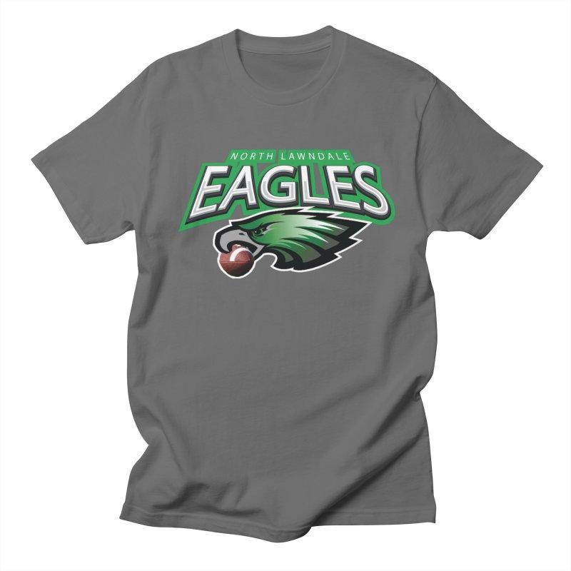 Eagles Logo Plain Men's T-Shirt by J. Brantley Design Shop