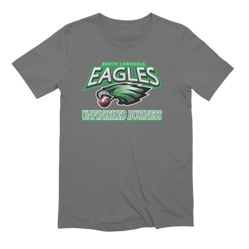 North Lawndale Eagles Unfinished Business Men's T-Shirt by J. Brantley Design Shop
