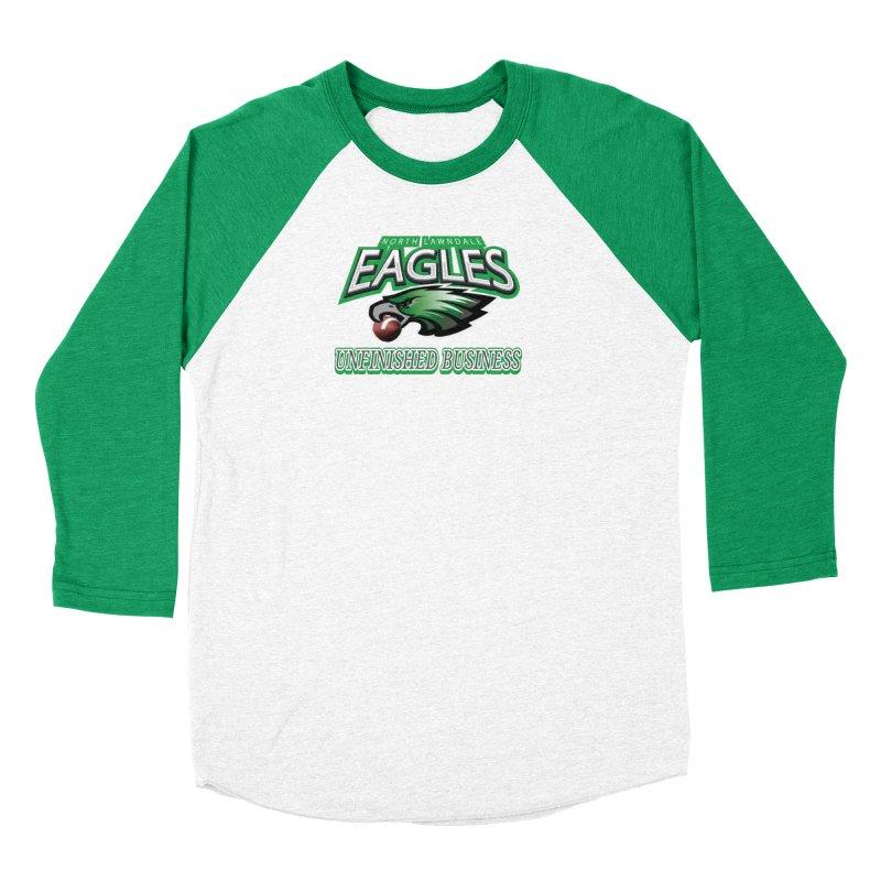 North Lawndale Eagles Unfinished Business Women's Baseball Triblend Longsleeve T-Shirt by J. Brantley Design Shop