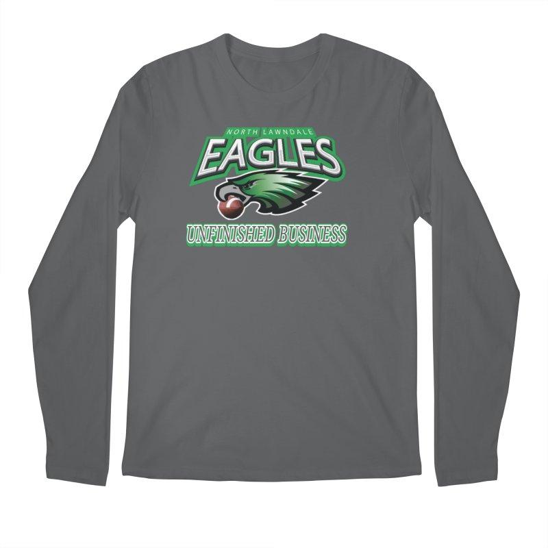 North Lawndale Eagles Unfinished Business Men's Regular Longsleeve T-Shirt by J. Brantley Design Shop