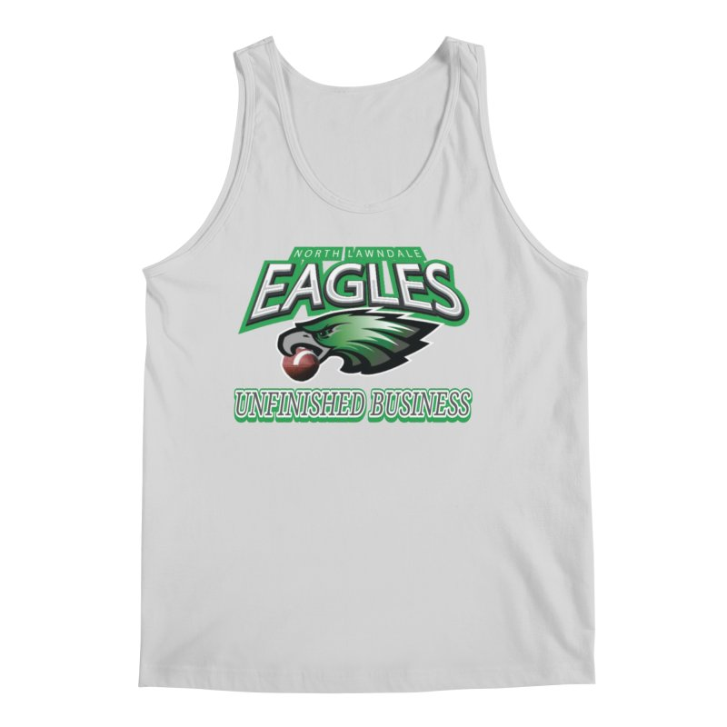 North Lawndale Eagles Unfinished Business Men's Regular Tank by J. Brantley Design Shop