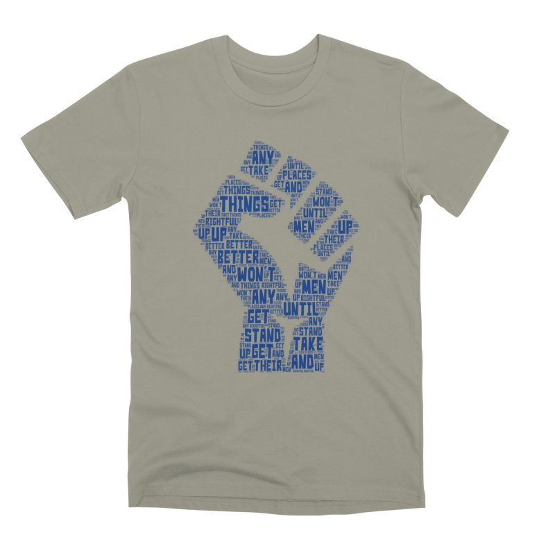 MEN STAND UP Men's Premium T-Shirt by J. Brantley Design Shop