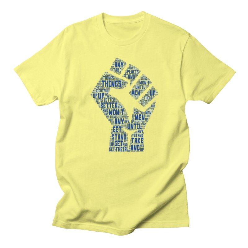 MEN STAND UP Women's Regular Unisex T-Shirt by J. Brantley Design Shop