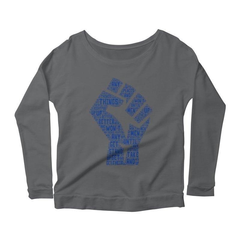 MEN STAND UP Women's Longsleeve T-Shirt by J. Brantley Design Shop