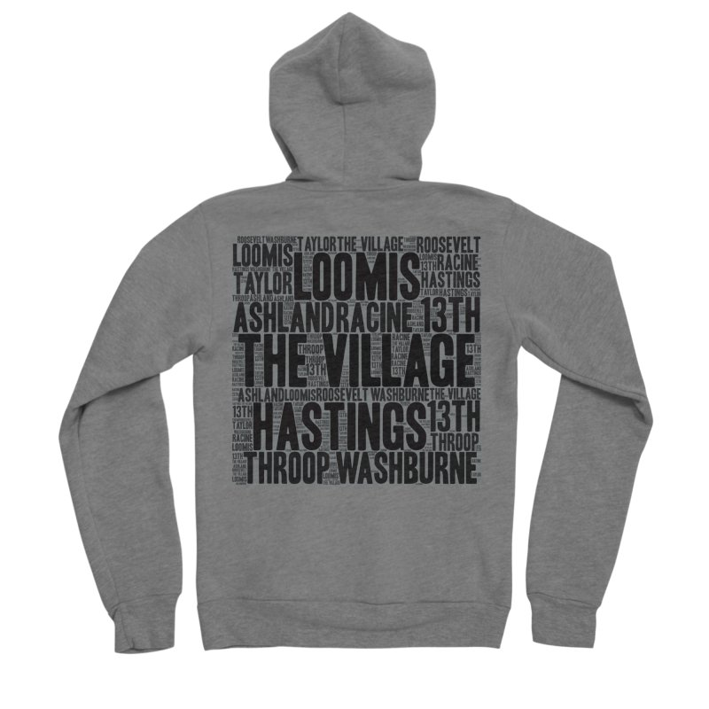 I'm From The Village Men's Sponge Fleece Zip-Up Hoody by J. Brantley Design Shop