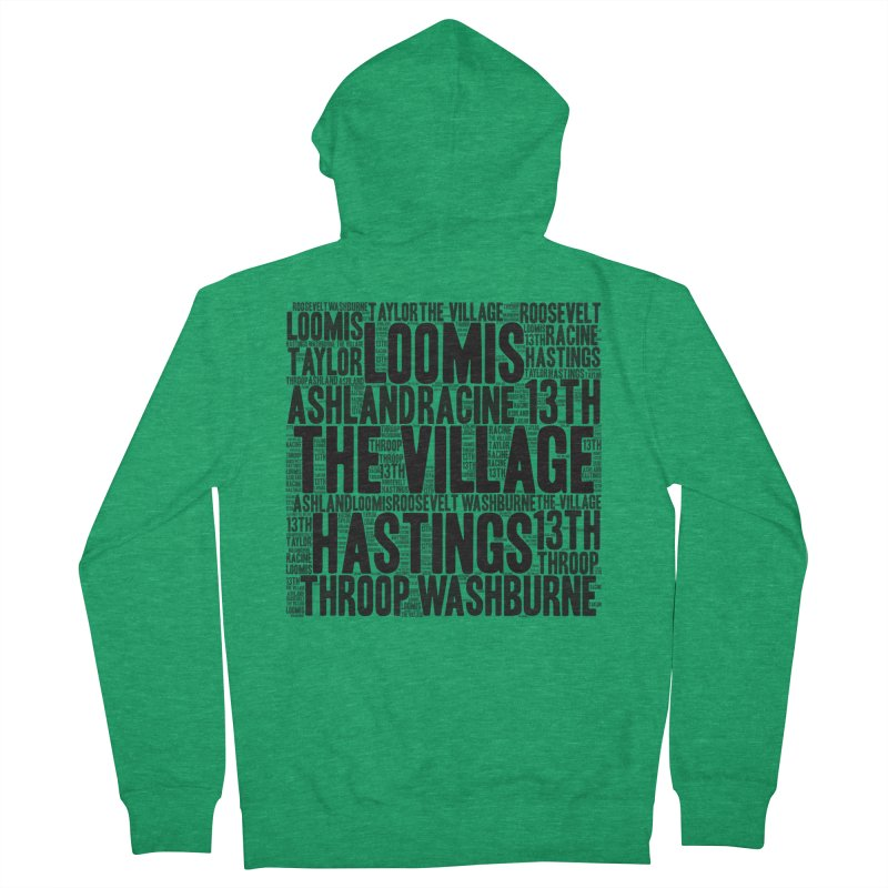 I'm From The Village Women's Zip-Up Hoody by J. Brantley Design Shop