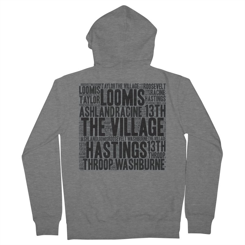 I'm From The Village Women's French Terry Zip-Up Hoody by J. Brantley Design Shop
