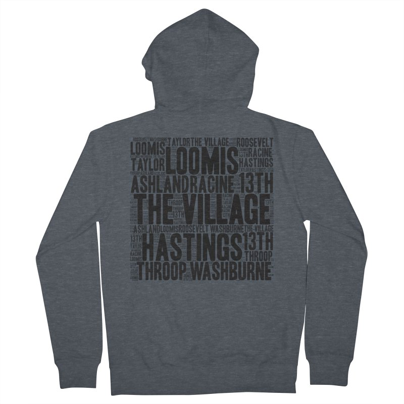 I'm From The Village Men's French Terry Zip-Up Hoody by J. Brantley Design Shop
