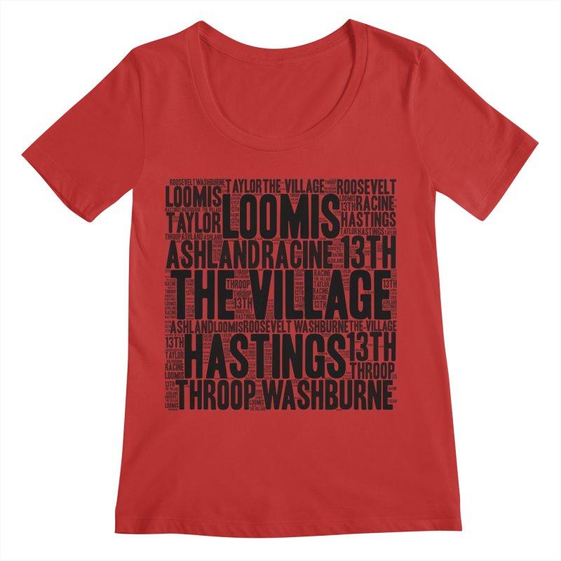 I'm From The Village Women's Regular Scoop Neck by J. Brantley Design Shop