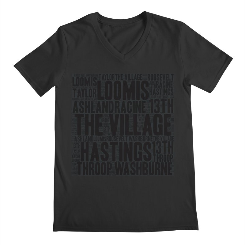 I'm From The Village Men's Regular V-Neck by J. Brantley Design Shop