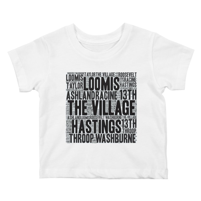 I'm From The Village Kids Baby T-Shirt by J. Brantley Design Shop