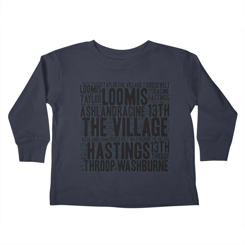 I'm From The Village Kids Toddler Longsleeve T-Shirt by J. Brantley Design Shop