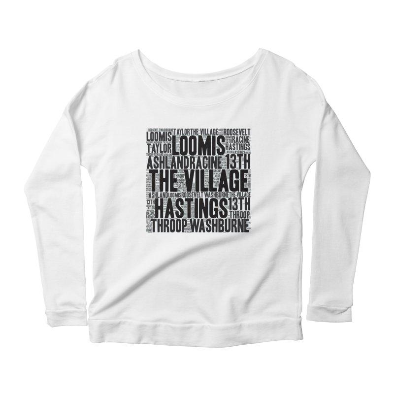 I'm From The Village Women's Scoop Neck Longsleeve T-Shirt by J. Brantley Design Shop