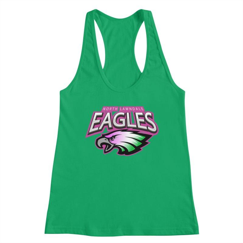 North Lawndale Eagles Breast Cancer Awareness Women's Tank by J. Brantley Design Shop