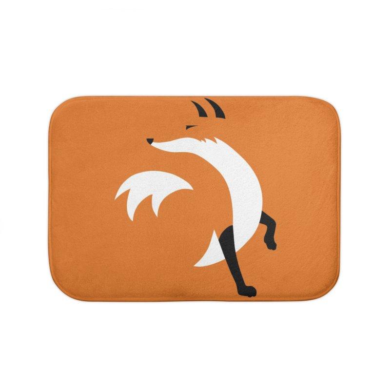 Fox Home Bath Mat by JCLovely's Artist Shop