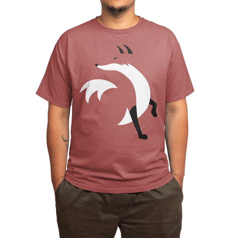 Fox Men's T-Shirt by JCLovely's Artist Shop